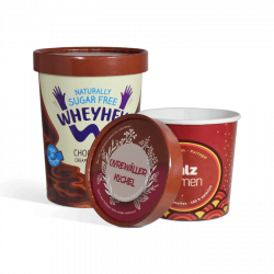 Envases para sopa con tapa personalizados