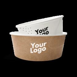 Boles de cartón con impresión personalizada