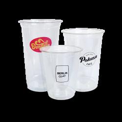 Vasos de plástico con impresión en 4 colores